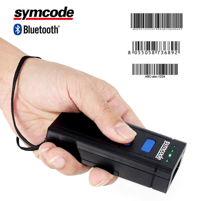 Laser Wireless Bluetooth Warehouse Barcode Scanner / Inventory Barcode Reader