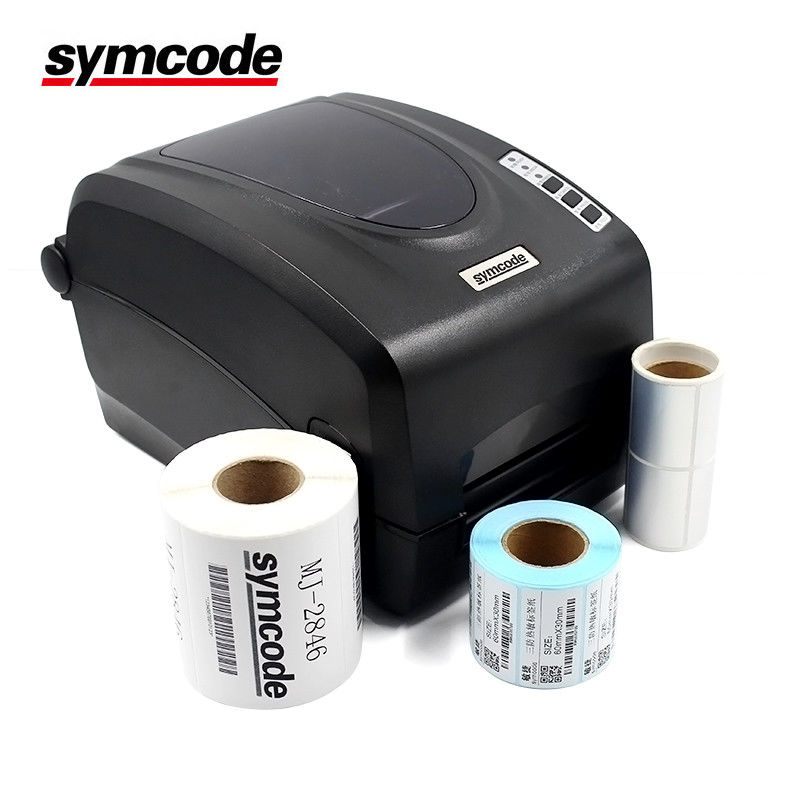 Automatic Positioning Barcode Label Printer / Thermal Barcode Printer 2.5 A